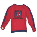Pull Spiderman Rouge Taille 4 ans