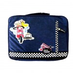 Housse PC portable Paul Frank bleue