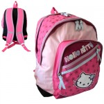 Grand sac � dos double compartiment Hello Kitty Rose