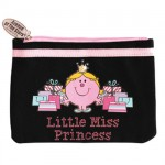 Pochette Canvas noire Little Miss Princess