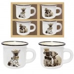 Coffret Expresso Ristretto - Bouledogues et Chihuahuas