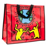 Sac cabas Keith Haring Planet rouge