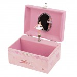 Coffret Musical Danseuse en Tutu - Rose - Figurine Ballerine