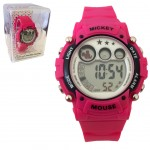 Montre Digitale Disney Mickey Mouse Rose
