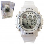 Montre Digitale Disney Mickey Mouse Blanche