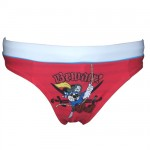 Maillot de bain Mickey rouge pirate