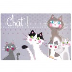 Set de table Chats - ChatChat Famille