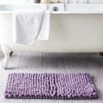 Tapis de bain BUBBLE en Coton 50 x 80  cm - Figue