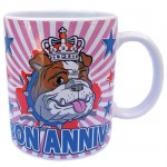 Mug London Bulldog Queen Bon Anniv