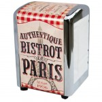Distributeur de serviettes Rétro Authentique Bistrot de Paris
