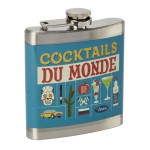 Flasque Cocktails du Monde - 180 ml