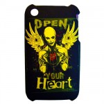 Coque Iphone 3G 3GS Open Your Heart