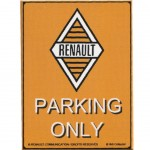 Magnet Renault Parking Only