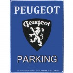 Magnet Peugeot Parking Only