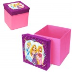 Pouf Disney princesses coffre