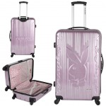 Valise trolley Playboy Pink Bunny 48 cm