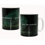 Grand Mug Les Experts Empreinte