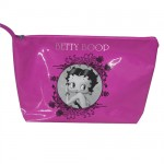 Trousse beauté Betty Boop vinyle rose