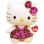 Peluche Hello Kitty écossaise