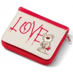 Portefeuille Nici Ourson Beige Love