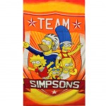 Serviette de bain The simpsons Team