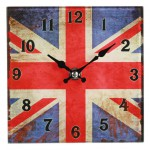 Horloge Vintage London Union Jack 15 cm