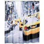Rideau de douche New-York Taxi 180 x 180 cm