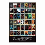 Poster Game of Thrones Episodes  61 x 91.5 cm