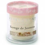 Bougie Votive Heart and Home 15 heures - Songe de Jasmin