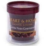 Bougie Votive Heart and Home 15 heures - Cerise noire gourmande