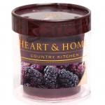 Bougie Votive Heart and Home 15 heures - Mûre Sauvage