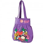 Sac cabas Pucca violet Tattoo Old School