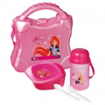 Set pique-nique Winx Club rose