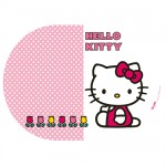 Petit Set de table Ovale Hello Kitty