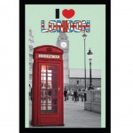 Miroir London – I Love London Phone box