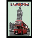 Miroir London - Bus et Big Ben
