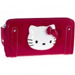 Portefeuille Hello Kitty par Camomilla Milano Pop-up Rouge
