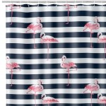 Rideau de douche Flamants Roses 180 x 200 cm