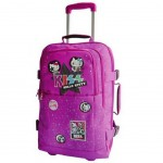 Valise Hello Kitty Kiss Prune