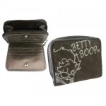 Petit portefeuille Betty Boop marron
