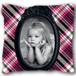 Petit coussin Monster doll avec PHOTO PERSONNALISEE