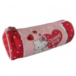 Trousse ronde rouge Charmmy Kitty