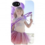 Coque iPhone 4/4S transparente avec PHOTO PERSONNALISEE
